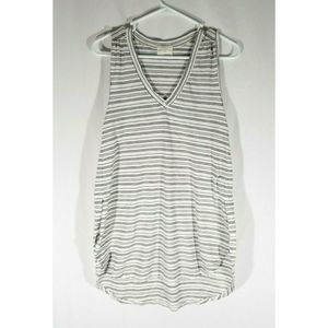 Women's T. LA Striped Long Tank Top Anthropologie